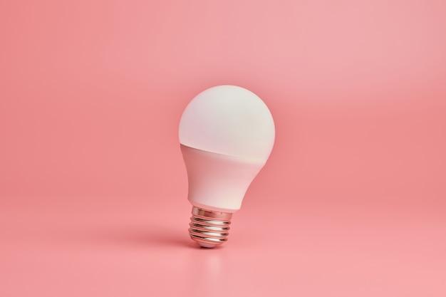Concepto de idea mínima de ahorro de energía