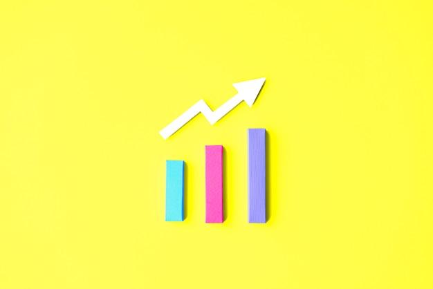 Concepto de la información del diagrama del análisis de la estrategia de las estadísticas