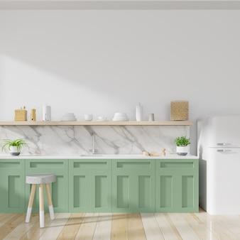 Concepto interior de cocina.