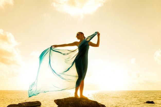 Concepto de libertad y belleza