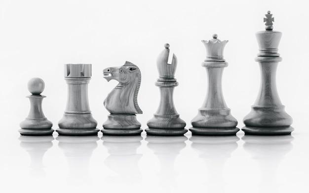 Concepto de líder y trabajo en equipo para el éxito.
