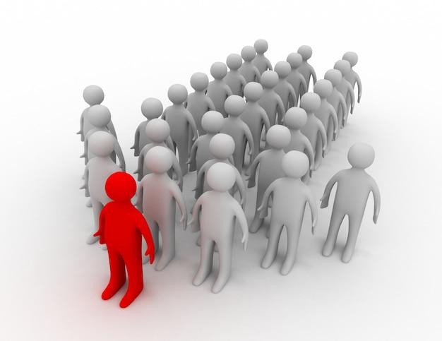 Concepto de líder