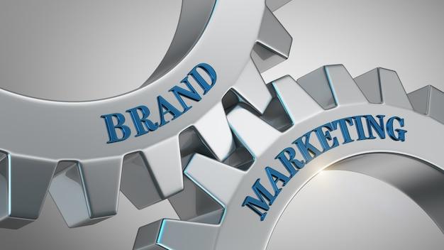 Concepto de marketing de marca