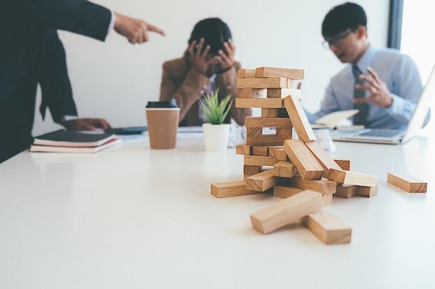 Concepto de negocio de fracaso