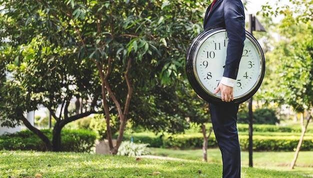 Concepto de organización de horario de gestión de tiempo