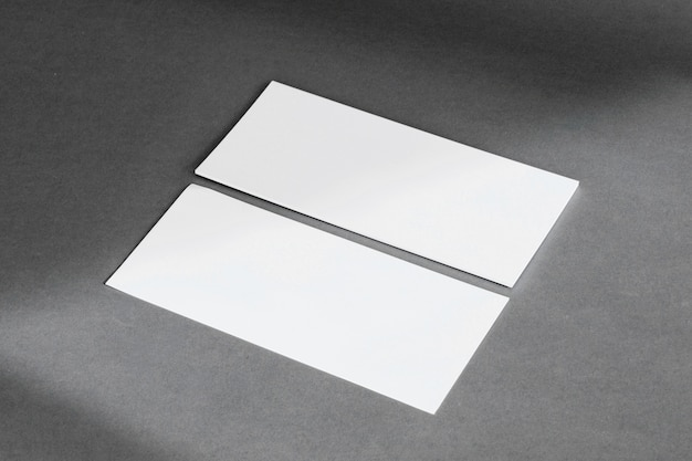 Concepto de papelería con banners