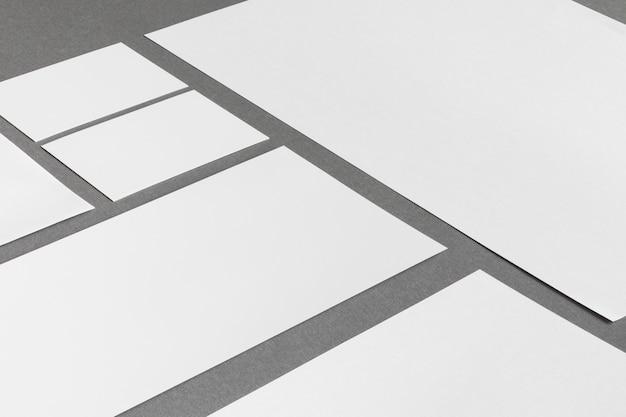 Concepto de papelería