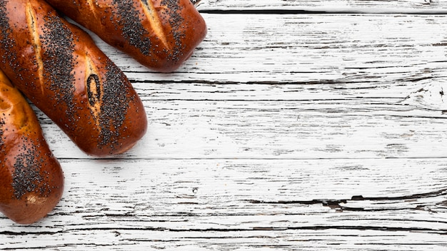 Concepto de pastelería deliciosa con espacio de copia