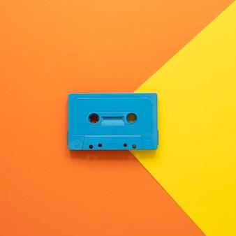 Concepto de radio con cassette antiguo