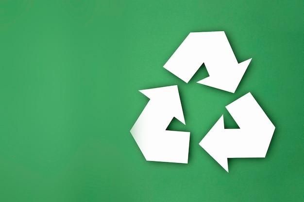 Concepto de reciclaje ecológico