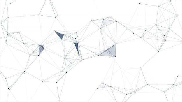 Concepto de red de comunicación y tecnología.