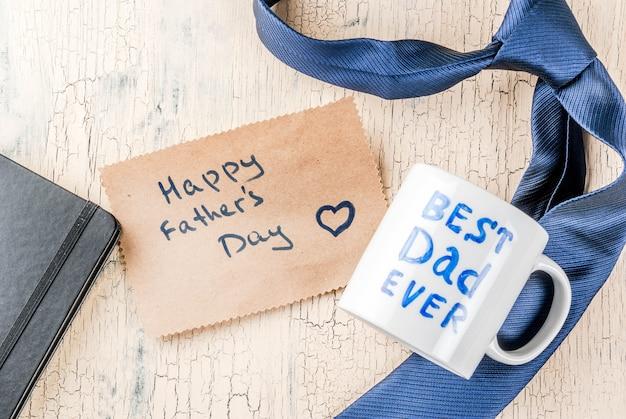 Concepto de regalo del día del padre