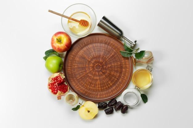 Concepto de rosh hashaná (festividad del año nuevo judío).