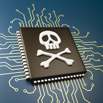 Concepto de seguridad de errores del procesador de la computadora