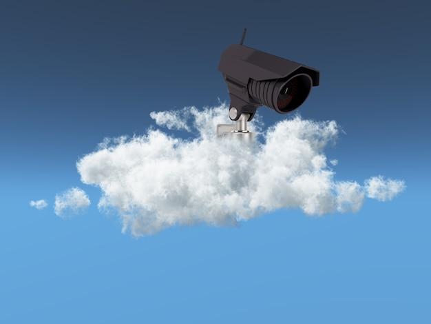 Concepto de seguridad en la nube