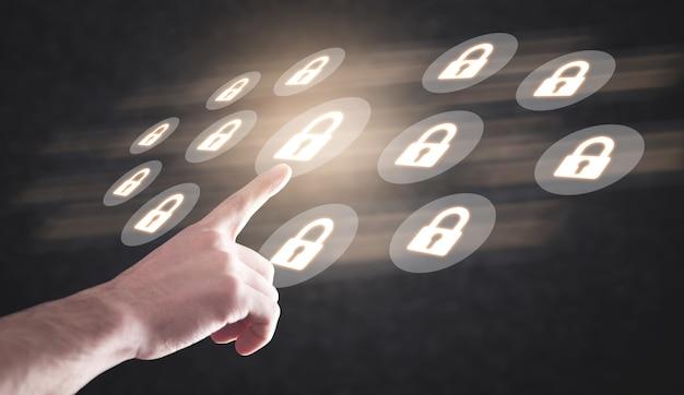 Concepto de seguridad tecnológica