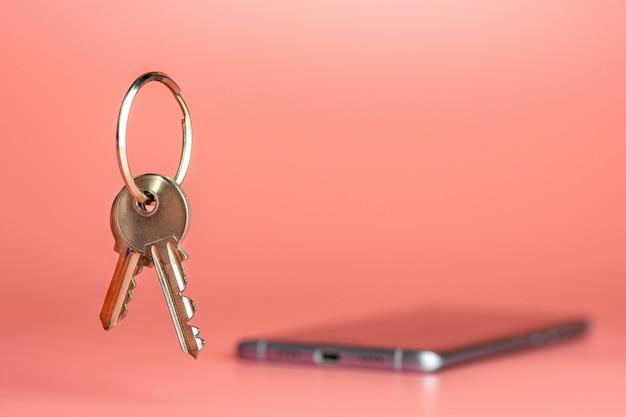 Concepto de seguridad del teléfono inteligente, protección de la transferencia de red de datos móviles