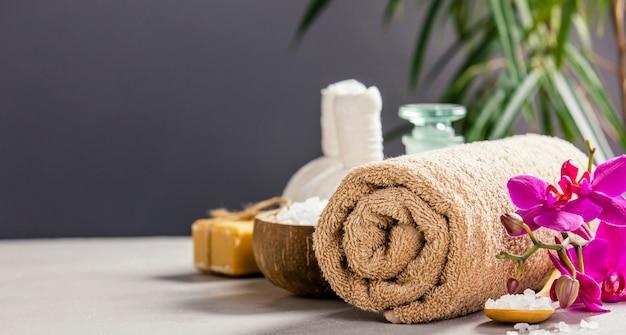 Concepto de spa y relajación