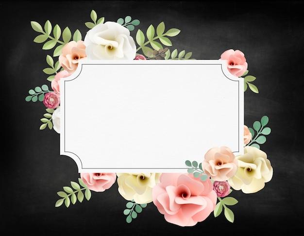 Concepto de textura floral rosa patrón