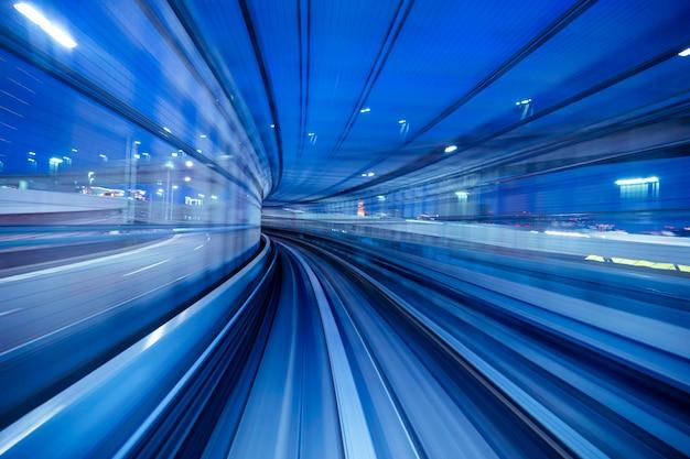 Concepto de transporte abstracto moderno.