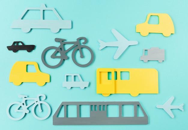 Concepto de transporte urbano