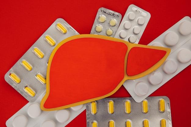 Concepto de tratamiento hepático