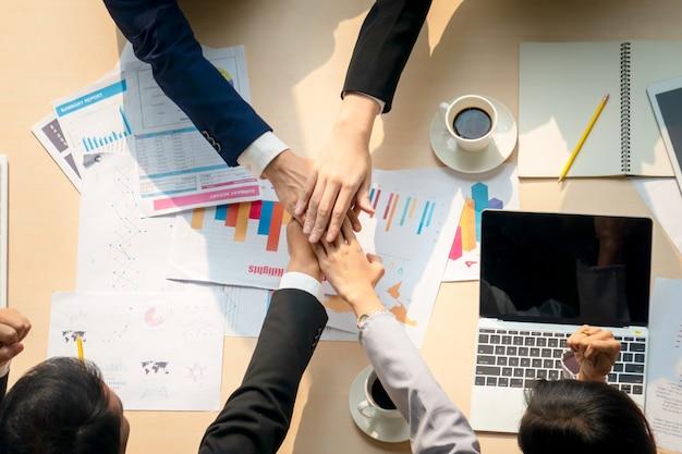 Concepto de unidad de personas de negocios