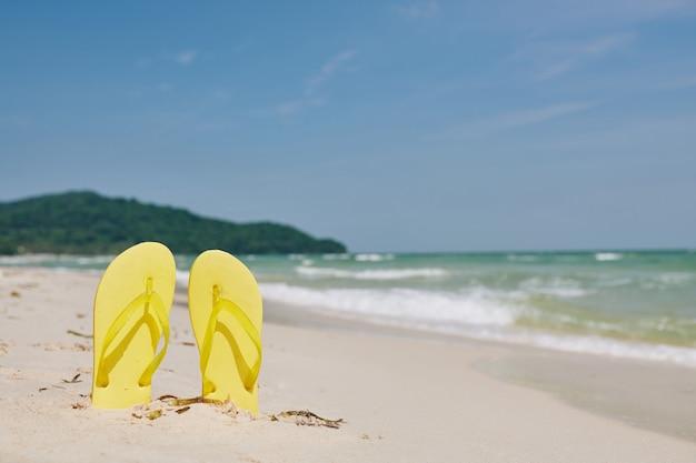Concepto de vacaciones de verano