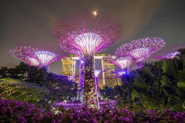 Concepto de viaje de singapur