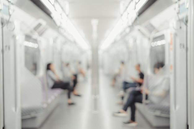 Concepto de vida de la ciudad transporte público.