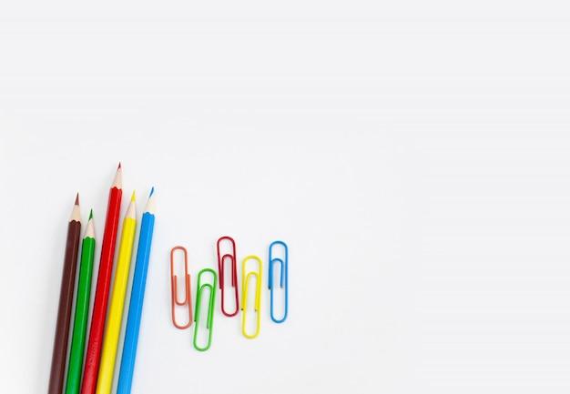 Conceptos de útiles escolares