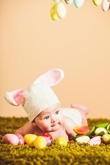 Conejito de pascua bebé