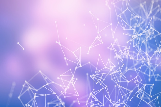 Conexión a internet, sentido abstracto del diseño gráfico de ciencia y tecnología.
