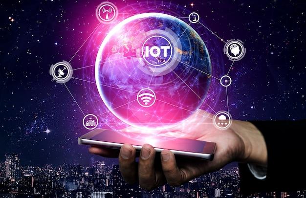 Conexión de red y comunicación por internet.