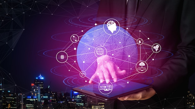 Conexión de red y concepto de comunicación por internet