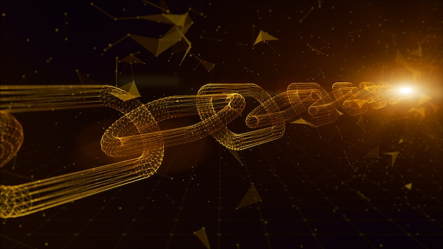 Conexiones de enlaces de cadena de red