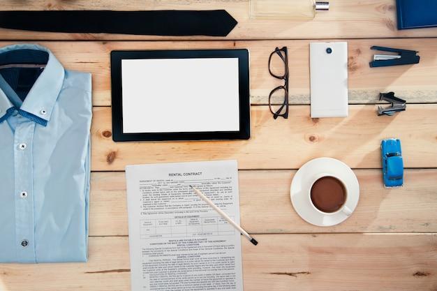 Un conjunto de atributos integrales de un empresario para cada día.