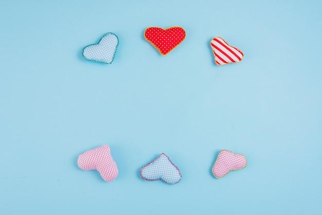 Conjunto de corazones de juguete
