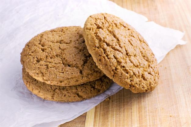 Conjunto de galletas dulces