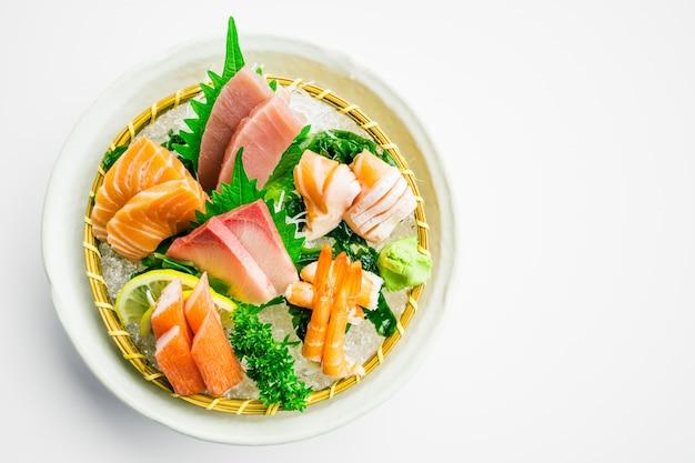 Conjunto mixto de sashimi