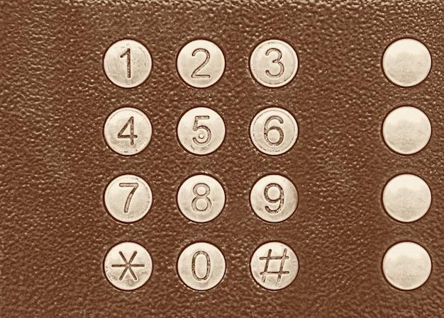Conjunto de números.