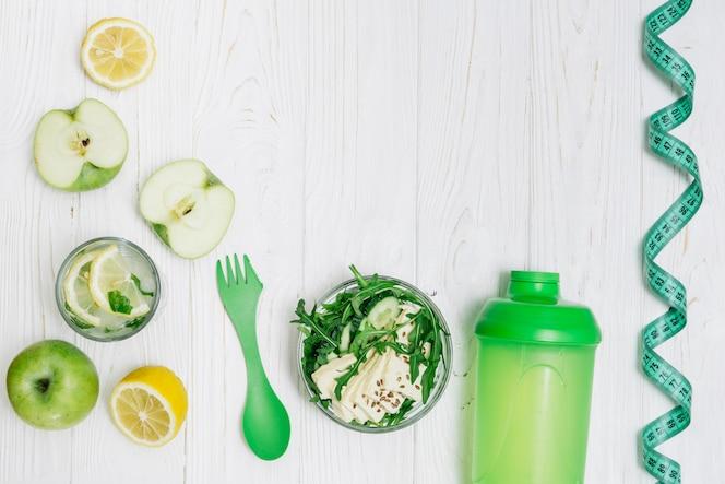 Conjunto saludable para bajar de peso