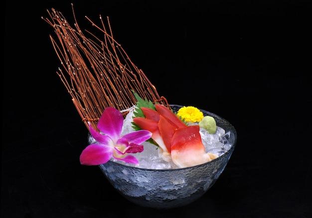 Conjunto de sashimi de hokkigai