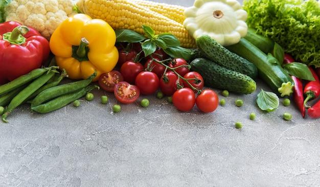 Conjunto de verduras
