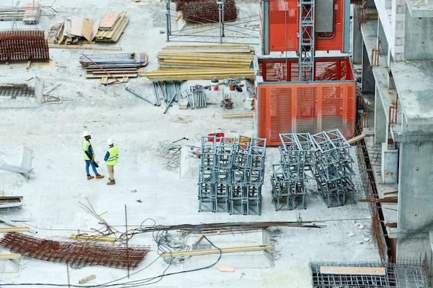 Construcción de bloques de apartamentos
