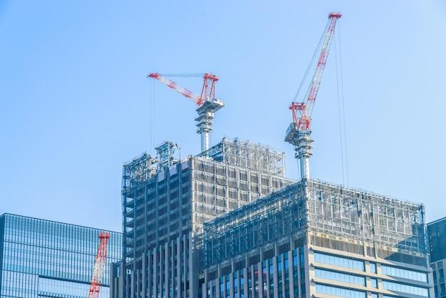 Construcción de grúas de construcción