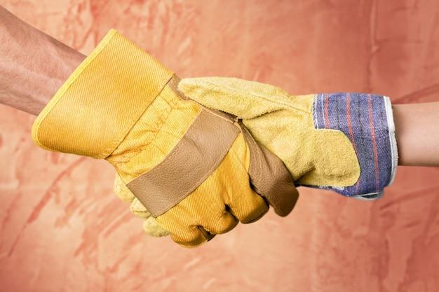 Construcción, trabajo en equipo, asociación,