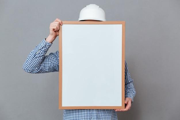 Constructor con tablero en blanco