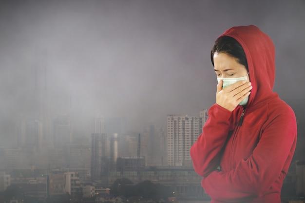 Contaminación del aire de bangkok.