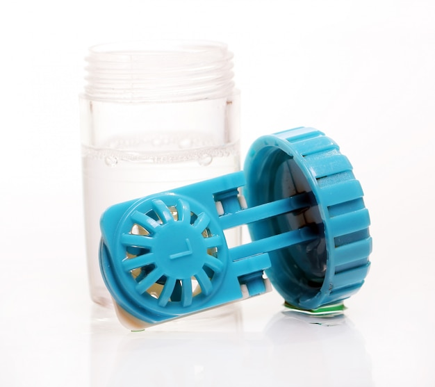 Contenedor para lentes de contacto